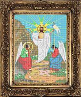 Схема для вышивки бисером - Воскресение Иисуса Христа, Арт. ИБ3-001-R - Распродажа