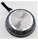 Сковорода с антипригарным гранитным покрытием Benson BN-511 (24*5см), индукция, бакелитовая ручка   сковородка, фото 3