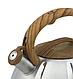 Чайник со свистком из нержавеющей стали Benson BN-704 (3 л), нейлоновая ручка, индукция | свистящий чайник, фото 2