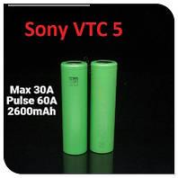 Акумулятори високострумовi Sony US18650VTC5 2600mah (до 60А)