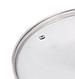 Крышка из закаленного стекла Benson BN-1007 (28 см) | стеклянная крышка на кастрюлю Бенсон | крышка стекло, фото 2