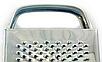 Тёрка из нержавеющей стали 4 стороны Benson BN-1010 | шинковка | кухонная терка из нержавейки Бенсон, фото 5