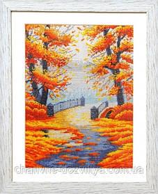 """Набор для вышивания крестиком """"Золотая осень"""""""