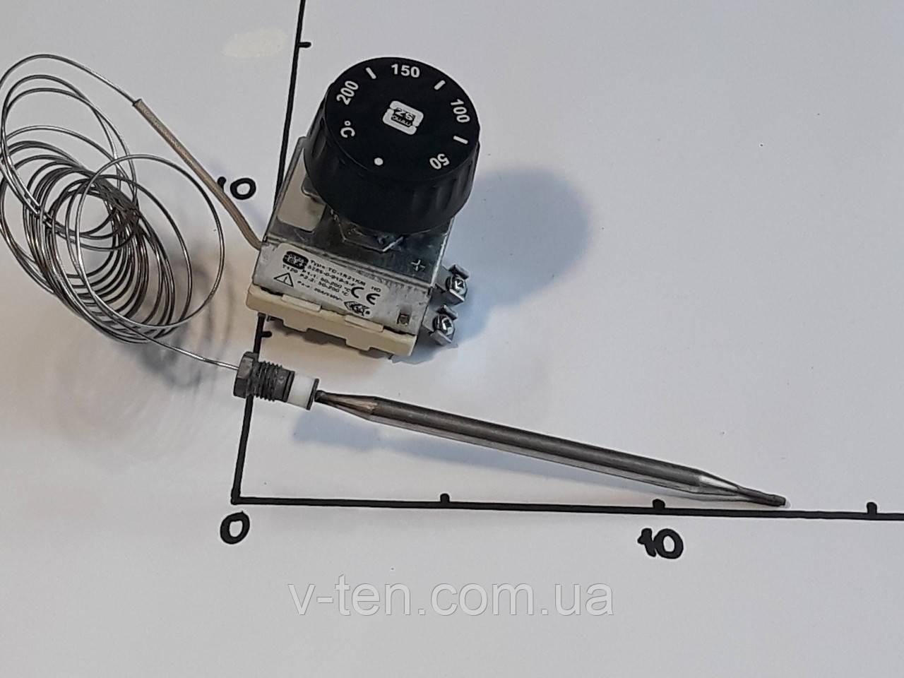 Терморегулятор 50-200°C капиллярный (двухполюсный) MMG (Венгрия)