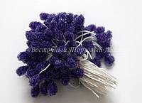 Тычинки для цветов «Синие большие»