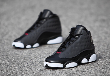 "Кроссовки Женские JORDAN 13 RETRO Black Carbon Grey (GS ""Hyper Pink"")"