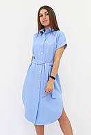S, M, L / Зручне жіноче плаття-сорочка Sandy, блакитний