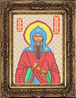 Схема для вышивки бисером - Геннадий Святой Преподобный, Арт. ИБ5-086-W - Распродажа