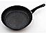 Набор сковородок с антипригарным мраморным покрытием Benson BN-505 (20см, 24см, 26см) | сковорода, фото 6