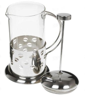 Френч-пресс для заваривания Benson BN-171 (600 мл) нержавеющая сталь + стекло | заварник | заварочный чайник