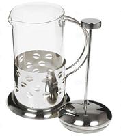 Френч-пресс для заваривания Benson BN-171 (600 мл) нержавеющая сталь + стекло | заварник | заварочный чайник, фото 1