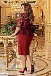 Костюм женский батал, фото 3