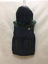 Детская жилетка для мальчика Ferrari р.3-7 лет опт