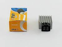 Регулятор напряжения Honda Dio/Tact/GY6-50/60/80/125сс квадр.фишка TVR(03256)