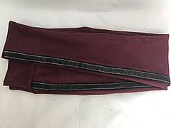 Замшевые лосины (42-48) № 78 бордовый, фото 3