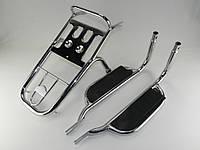 Багажник Дельта с подножками пассажирскими (комплект)(0187)