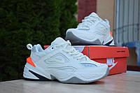 Nike M2K Tekno белые найк техно кроссовки женские кросовки кеды