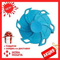 Спиннер обычный Springing Top голубой | тренажёр для пальцев рук | спинер | игрушка антистресс