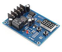 XH-M603 плата модуль керування зарядкою 12-24 В з вольтметром, фото 1