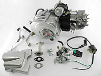 Двигатель Дельта/Альфа/Актив 110cc, автомат +карбюратор+комм+катушка(0613)