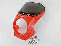 Обтекатель Альфа под круглую фару HALAWA (красный)(112809)
