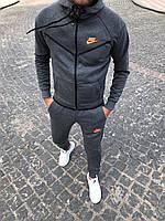 Мужской стильный спортивный костюм Nike  (топ-реплика) Осень-зима
