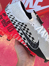 Бутсы футбольные Nike Mercurial Vapor 13 Elite Neymar Jr. AG-PRO Серые, фото 2