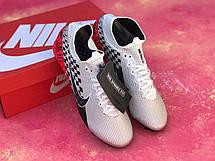 Бутсы футбольные Nike Mercurial Vapor 13 Elite Neymar Jr. AG-PRO Серые, фото 3