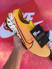Бутсы для футбола Nike Mercurial Vapor 13 Elite FG Желтые, фото 2