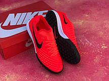 Стоноги футбольні Nike MagistaX Finale II IC Червоні, фото 2