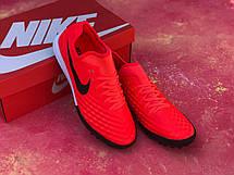 Стоноги футбольні Nike MagistaX Finale II IC Червоні, фото 3