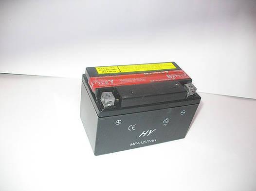 Свинцово-кислотный аккумулятор 12v/7Ah обслуживаемый