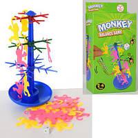 Настольная игра Балансирующие обезьянки, дерево, фигурки, в кор.10*19,5*4см (144шт)