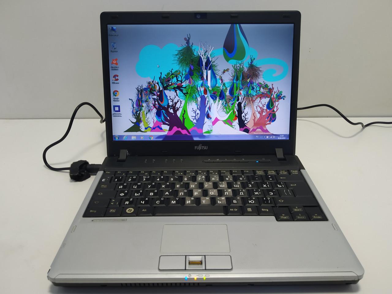 """12"""" Fujitsu Lifebook P770 \ i7 U620 1.07-2.13\ 4 ГБ ОЗУ \ 160 Гб hdd\ Полностью настроен"""