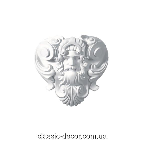 Панно настенное, декоративное Classic Home W0416,лепной декор из полиуретана.