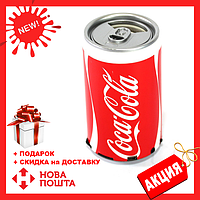 Портативная колонка Coca-Cola с MP3 плеером | FM-Радио | беспроводная USB колонка