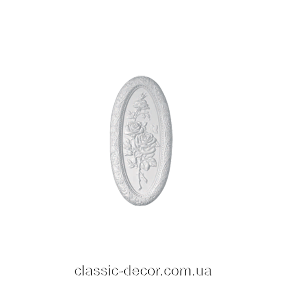 Панно настенное, декоративное Classic Home W0412,лепной декор из полиуретана.
