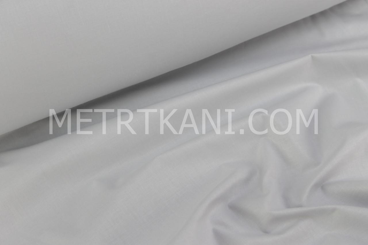 Польська бязь,бавовна світло-сірого кольору 135г/м2 №134