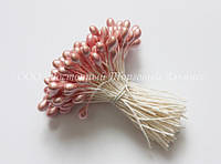 Тичинки для квітів «Рожеві перламутрові»