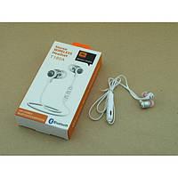 Беспроводные вакуумные Bluetooth Наушники JBL-T180A Белые