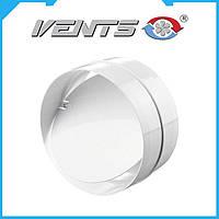 Соеденитель с клапаном для круглых воздуховодов VENTS Ø100мм