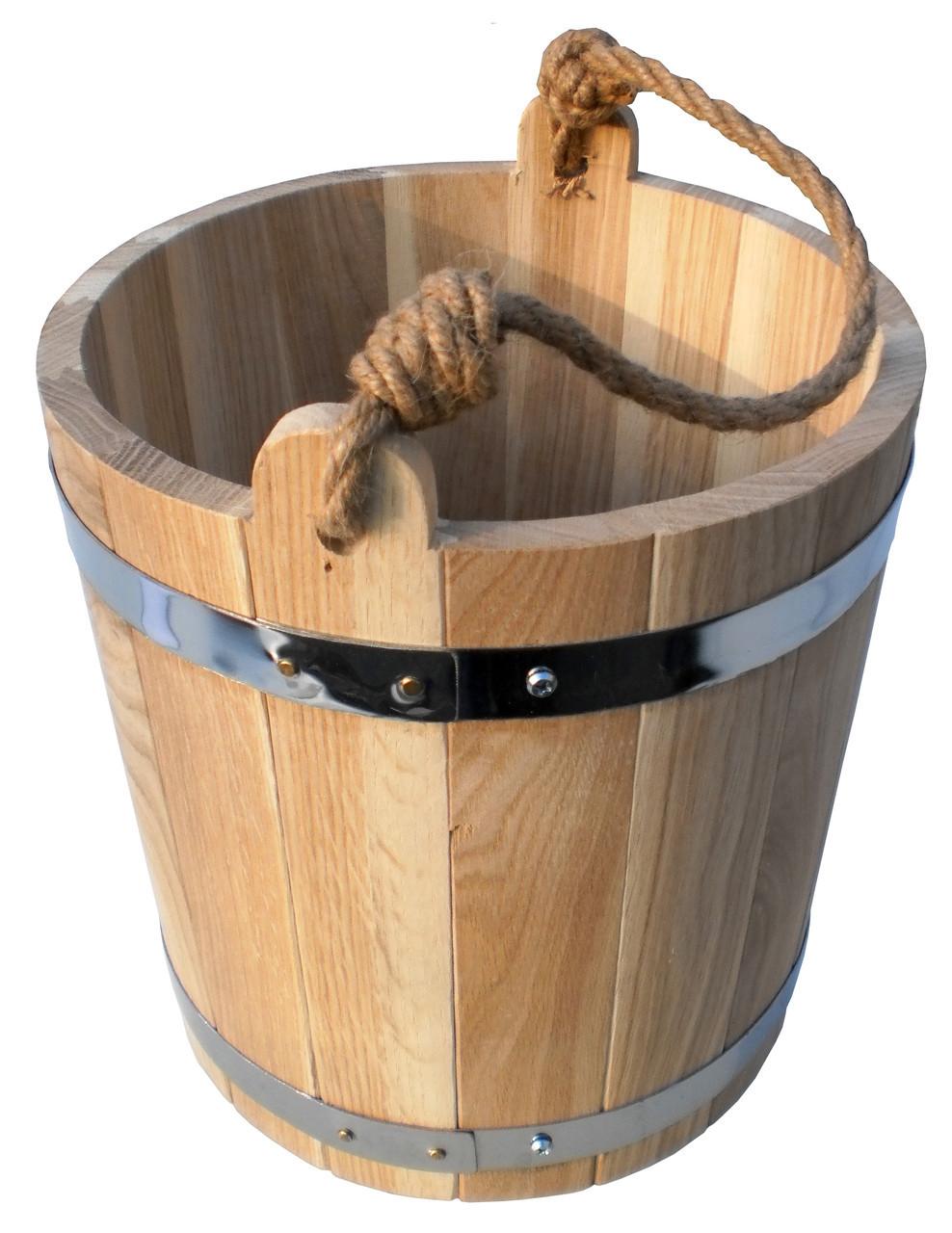 Ведро для бани 7 л. (эконом)