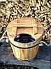 Запарник для веников дубовый 15 л. с нерж. вставкой, фото 10