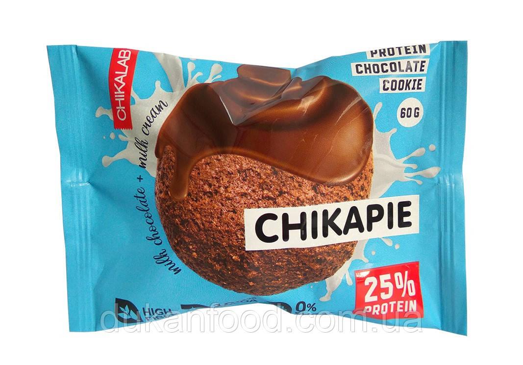 Chikalab  Протеиновое печенье ШОКОЛАД С НАЧИНКОЙ