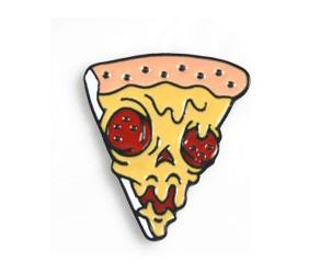Значок кусочек пиццы для лучших друзей и подруг 1 брошка