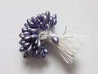 Тычинки для цветов «Фиолетовые перламутровые»