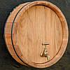 Зріз (торець) бочки декоративний (Ø від 51 до 60 см), фото 2