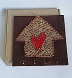 """Ключница """"Счастливый домик"""" - подарок на новоселье, фото 4"""