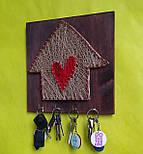 """Ключница """"Счастливый домик"""" - подарок на новоселье, фото 6"""