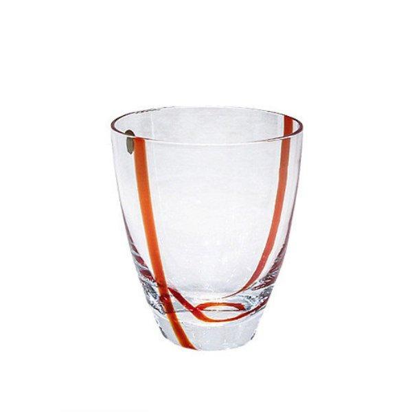 Набор стаканов Krosno 240 мл 6 шт оранжевый P186477024001013